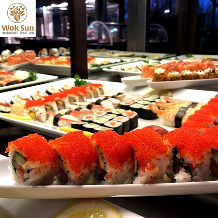 Wok Sun Restaurant: Le nostre specialità della cucina giapponese! Sushi!