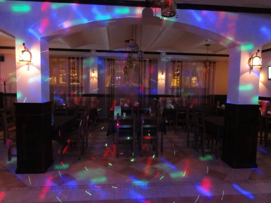 U Gabora: В зале достаточно места для танцев
