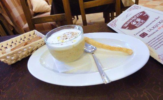U Gabora: Суп-крем грибной капучино