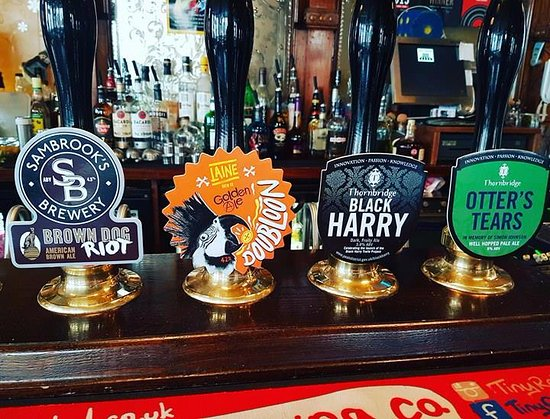 The Great Exhibition: Our ales rotate on a daily basis!