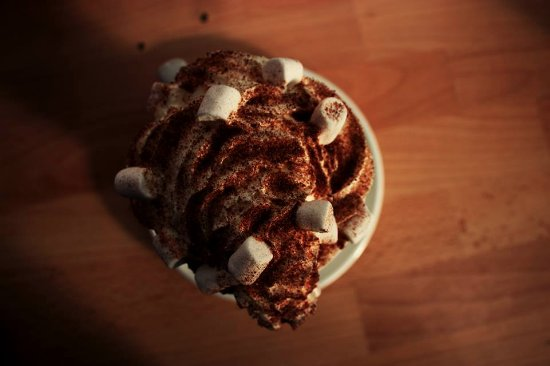 The Boardwalk Cafe: Our special Hot Chocolate