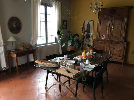 Saussignac, Francja: Bel endroit, belles vues, tranquillité