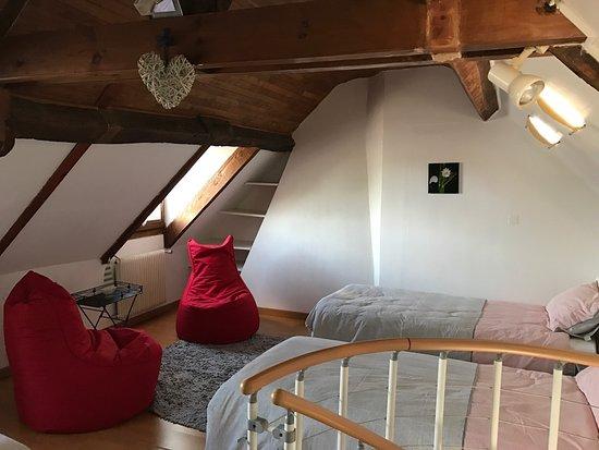 Saussignac, Francia: Bel endroit, belles vues, tranquillité