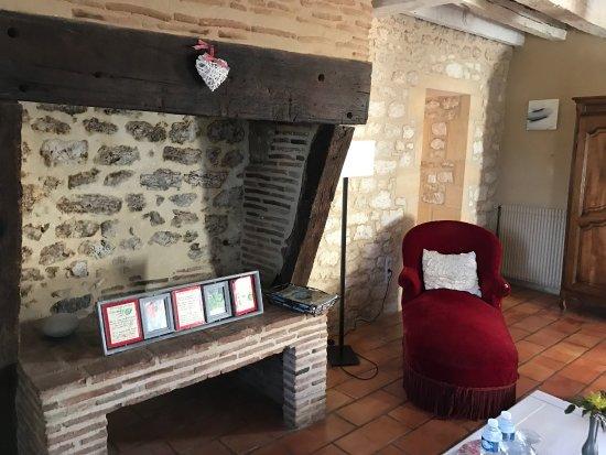 Saussignac, Frankrig: Bel endroit, belles vues, tranquillité