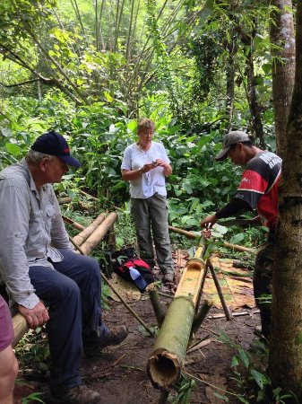 Chai Machete Tours: Have lunch at  milddle of jungle