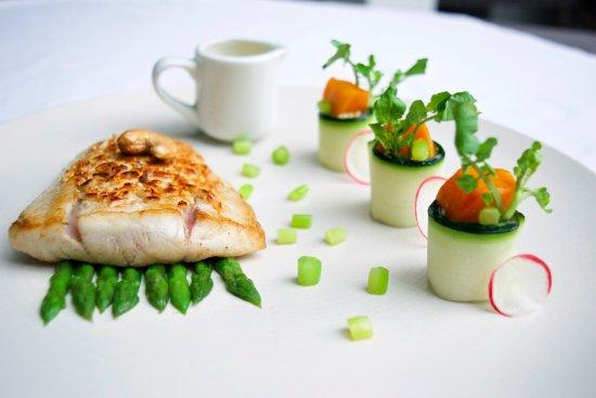 Bali Pearl Restaurant: Opaka with leek fondue