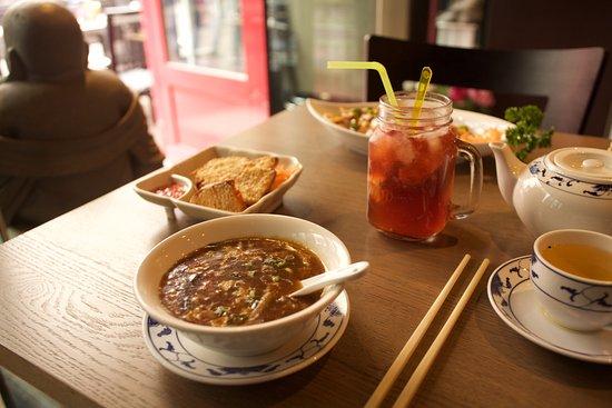 Dragon City: Sun Lat Tong, Hot and Sour soup