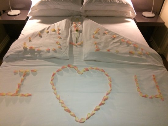 The Hyde All-Suite Hotel: Beautiful surprise for our honeymoon