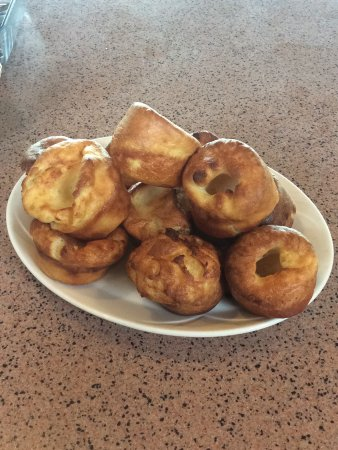 Brooklands Nurseries and Cafe Bar: Homemade Yorkshire puddings