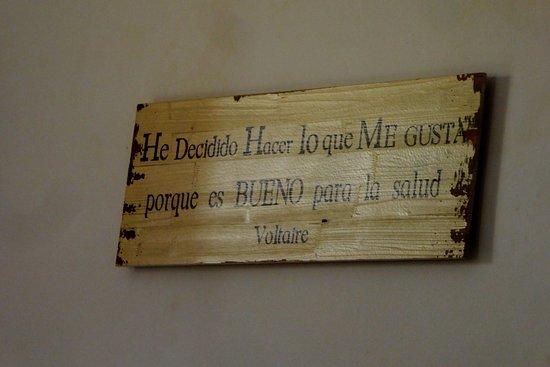 Sa Societat de Ca Na Fornera: Voltaire Zitat