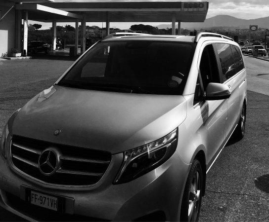 Astarita Car Service Sorrento: New Mercedes classe V