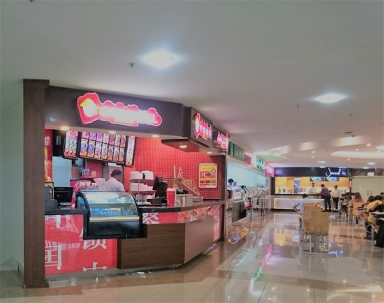 Al Wahda Mall upper floor above the other food court