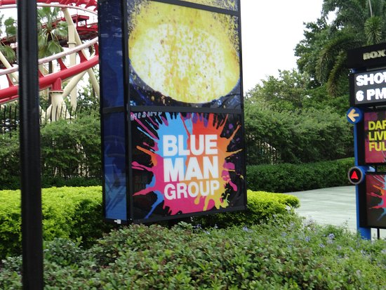 Blue Man Group: Blue