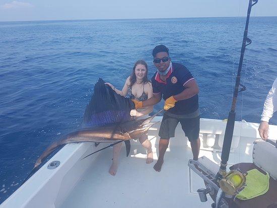 BluePearl Sportfishing: C'est moi qui l'ai attrapé!