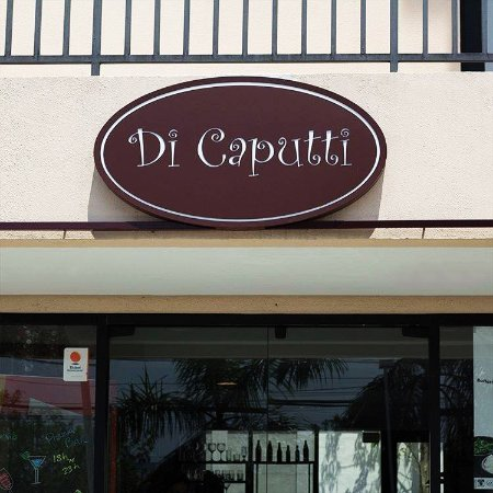 Di Caputti Pizza Bar: Placa Di Caputti
