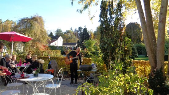 La Roseraie de Provins: Los jardines.