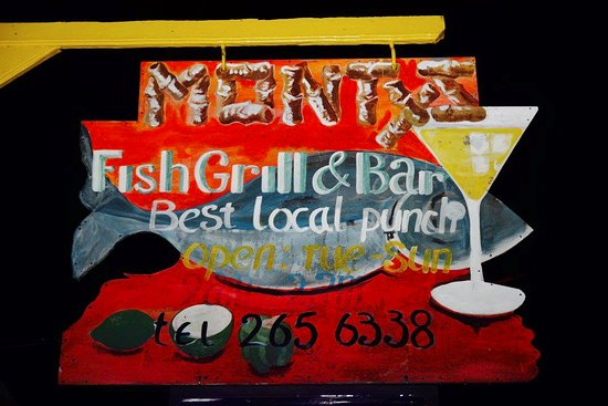 Monty's Fish Grill and Bar New Sign