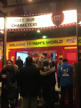 M&M's World Photo