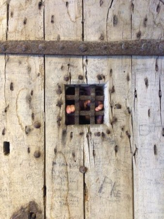 Ypres Tower Museum: life inside a prison cell