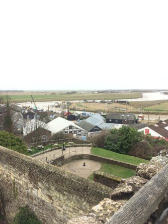 Ypres Tower Museum: the view from the castle