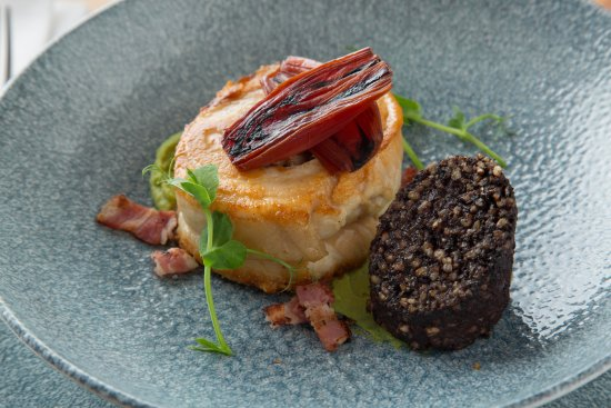 Clondalkin, Irlandia: Pork belly with black pudding