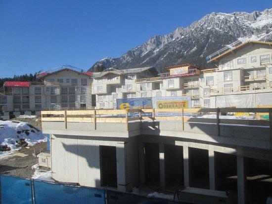 Hotel Kaiser in Tirol: The building site will be lovely
