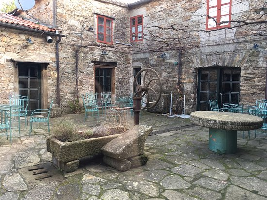 San Nicolas: This is the inner courtyard
