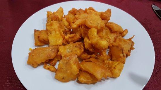 Rajasthan Ristorante Indiano: Cipolla fritta
