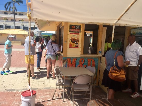 Sit & Sip Pedal Tours: The conch fritters were fantastic!