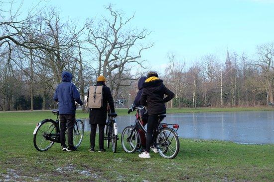 Amsterdam Black-Bikes: Vondelpark