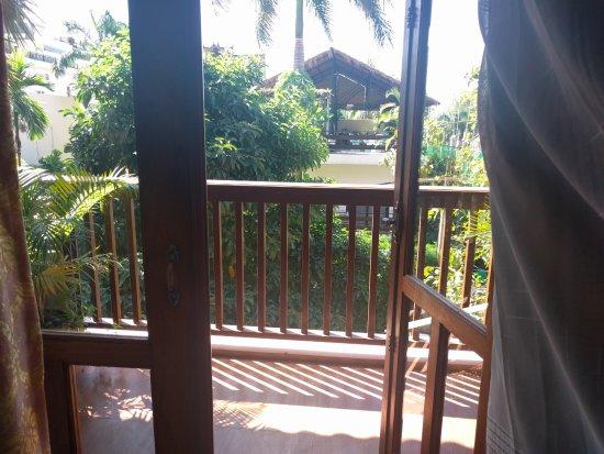City River Hotel: Balcony