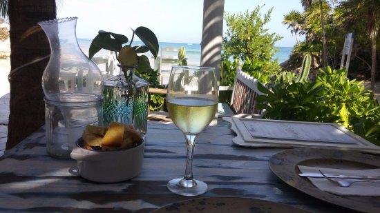 Life through a wine glass a Momo Hoja