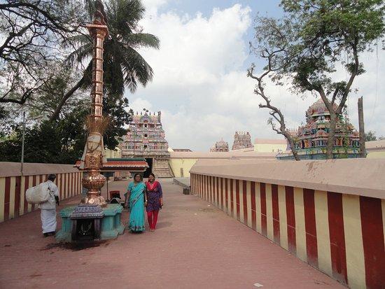 Inside premises of Someshwar Temple