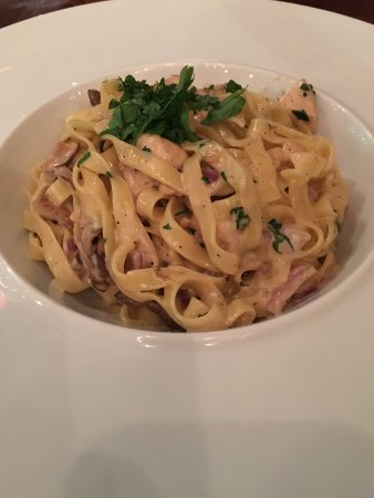 Athena`s Cook: Tagliatelle with chicken and cream sauce