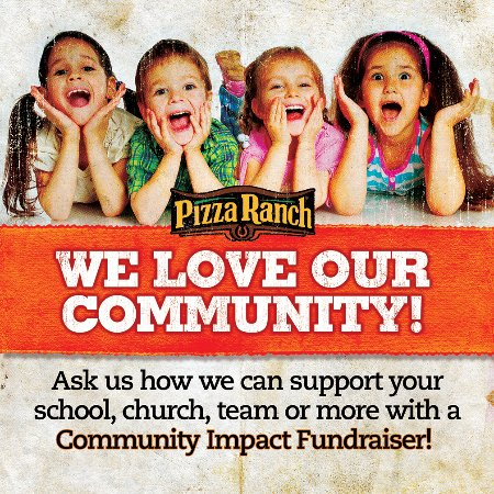 Pizza Ranch & FunZone Arcade: Fundraisers