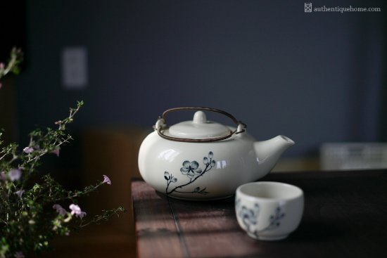 Authentique Home: Many of our ceramic tea sets are designed by our in-house artisans, inspired by the beauty of na