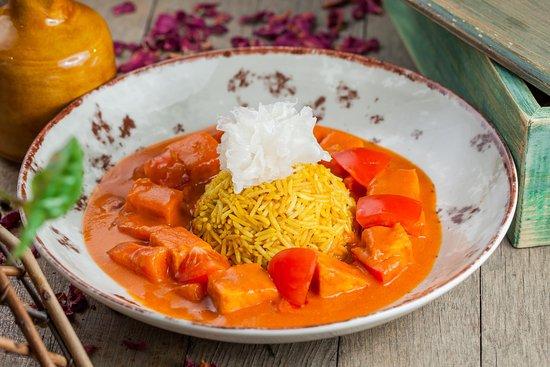 Tommi Lee: Тофу в соусе тики масала  (Детокс меню)