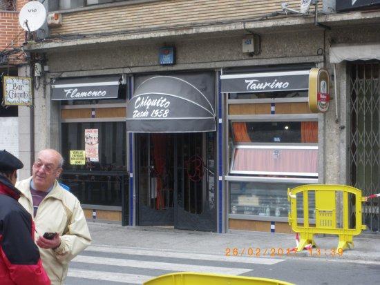 bar el chiquito: Foto de la entrada