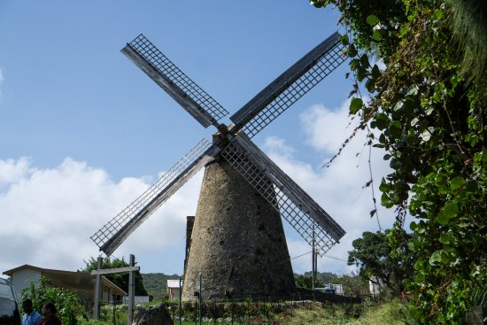 Carson's Taxi & Tour Service: Working windmill