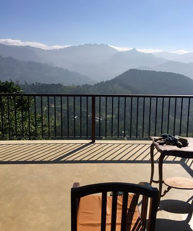 Madulkelle Tea and Eco Lodge: View from the tent