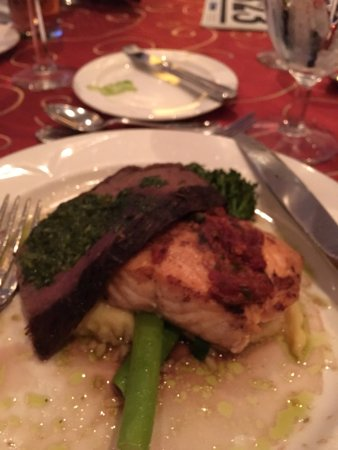 Hilton Columbus at Easton: Dinner in banquets