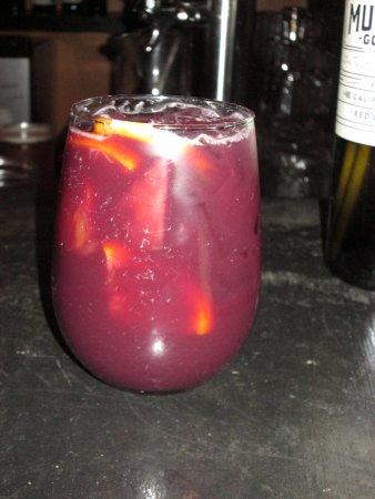 "Modesto, CA: The perfect ""dessert"" for me - sangria!"