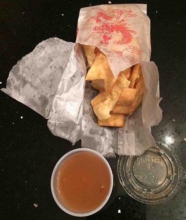 Lawrenceville, NJ: Fried Wonton Noodles with Duck Sauce
