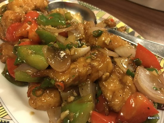Metway Grill: Paneer chilly
