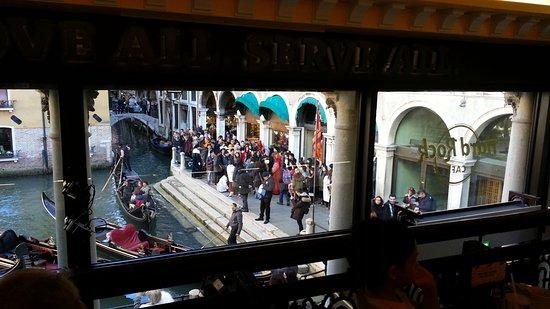 Hard Rock Cafe: Una bella vista di Venezia