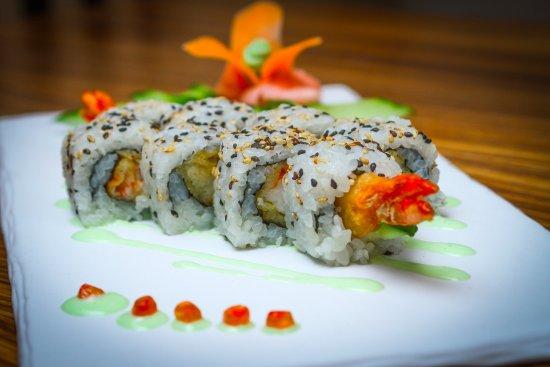 Cho Cho San: Ebi tempura uramaki