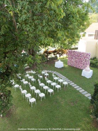 Botanica Mansion: Outdoor Wedding Ceremony