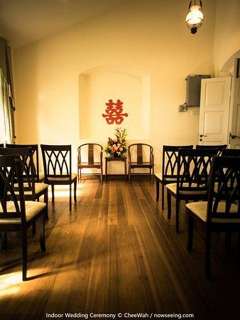 Botanica Mansion: Indoor Wedding Ceremony