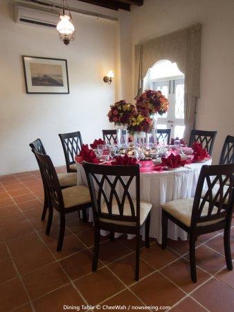 Botanica Mansion: Dining Table
