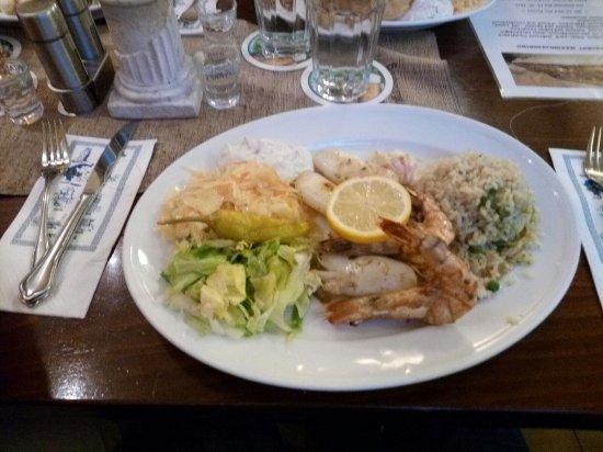 Maximilianburg: Piatto tipico con pesce fresco